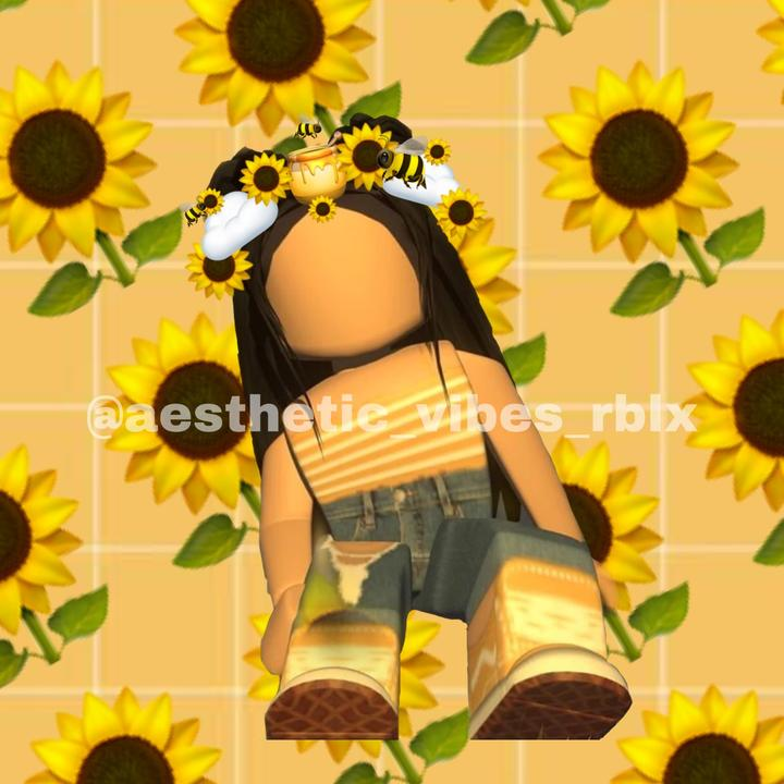 Roblox Profile Picture Sunflower Aesthetic Vibes Rblx 𝓢𝓾𝓷𝓯𝓵𝓸𝔀𝓮𝓻 Tiktok Profile