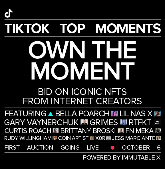 TikTok launches first creator-led NFT collection   TikTok Newsroom