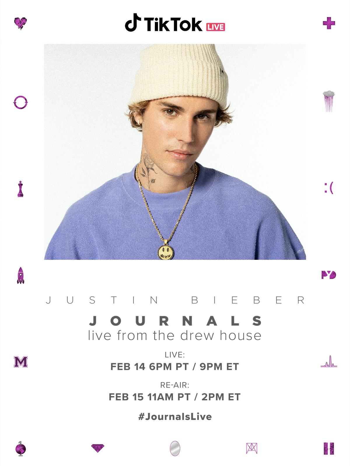 A Valentine S Day Gift From Justin Bieber Tiktok Journalslive Tiktok Newsroom